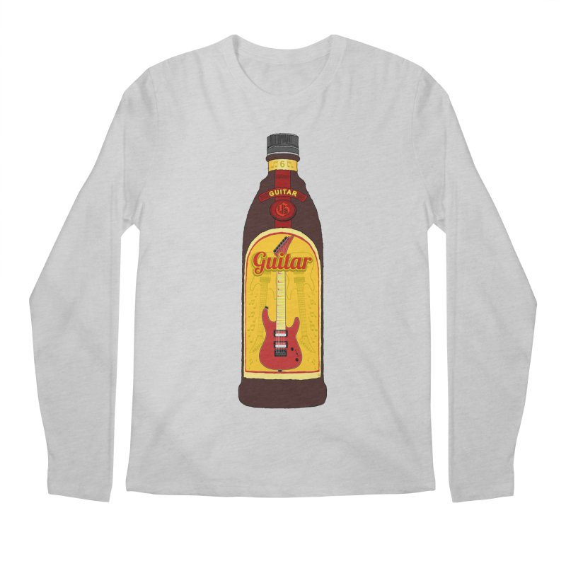 Guitar Bottle Men's Regular Longsleeve T-Shirt by Armando Padilla Artist Shop