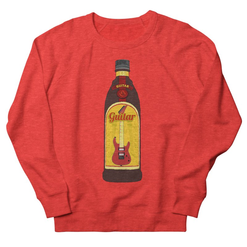 Guitar Bottle Women's Sweatshirt by Armando Padilla Artist Shop