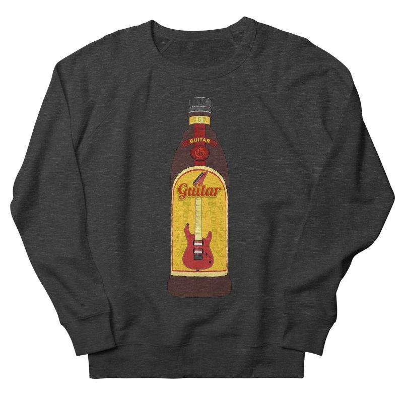 Guitar Bottle Men's Sweatshirt by Armando Padilla Artist Shop