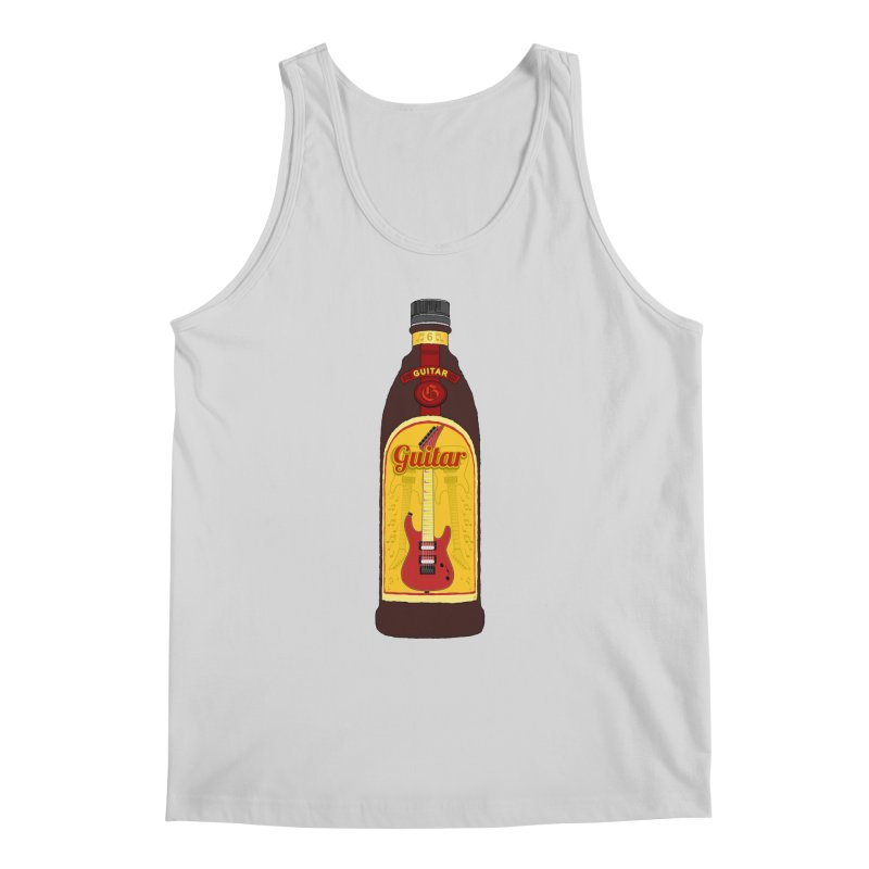 Guitar Bottle Men's Regular Tank by Armando Padilla Artist Shop