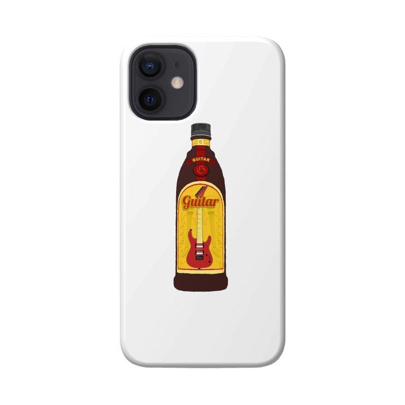 Guitar Bottle Accessories Phone Case by Armando Padilla Artist Shop