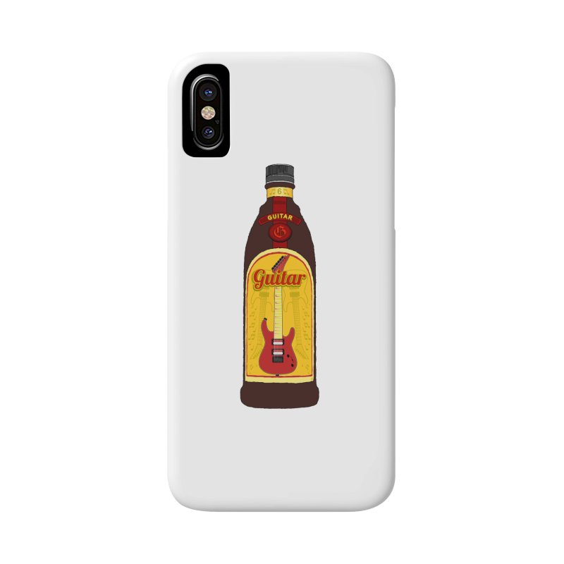 Guitar Bottle Accessories Phone Case by Armando Padilla Artist Shop