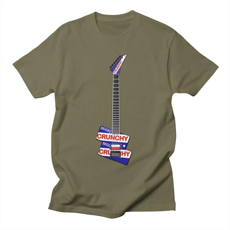 Crunchy Guitar Women's Regular Unisex T-Shirt by Armando Padilla Artist Shop