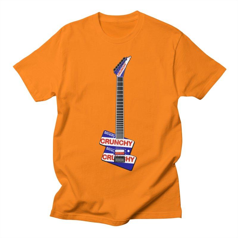 Crunchy Guitar Men's Regular T-Shirt by Armando Padilla Artist Shop