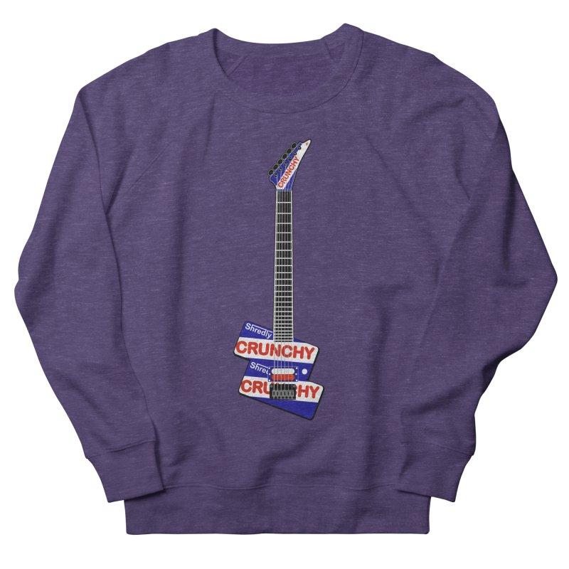 Crunchy Guitar Men's Sweatshirt by Armando Padilla Artist Shop