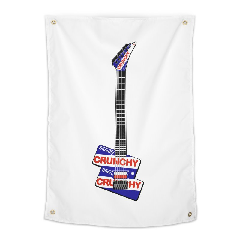 Crunchy Guitar Home Tapestry by Armando Padilla Artist Shop