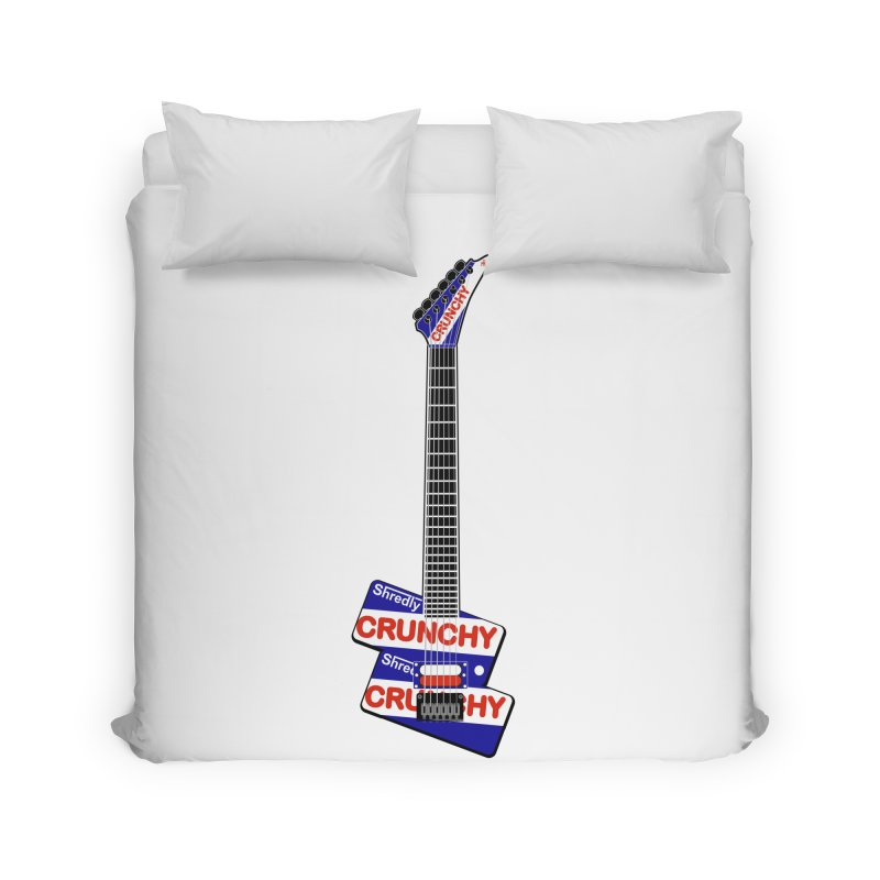 Crunchy Guitar Home Duvet by Armando Padilla Artist Shop