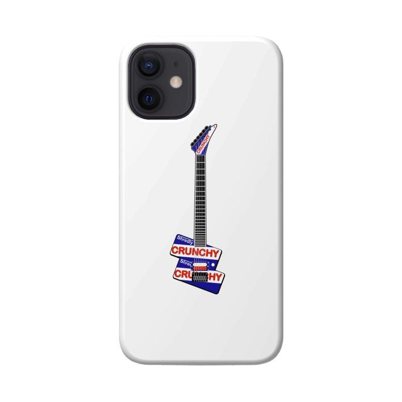 Crunchy Guitar Accessories Phone Case by Armando Padilla Artist Shop