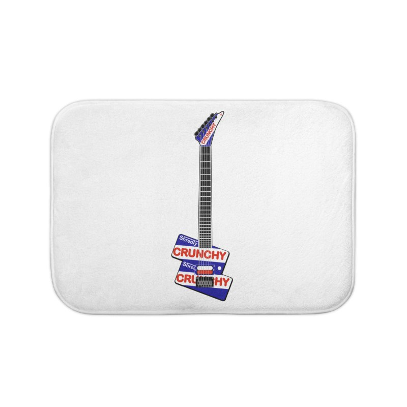 Crunchy Guitar Home Bath Mat by Armando Padilla Artist Shop
