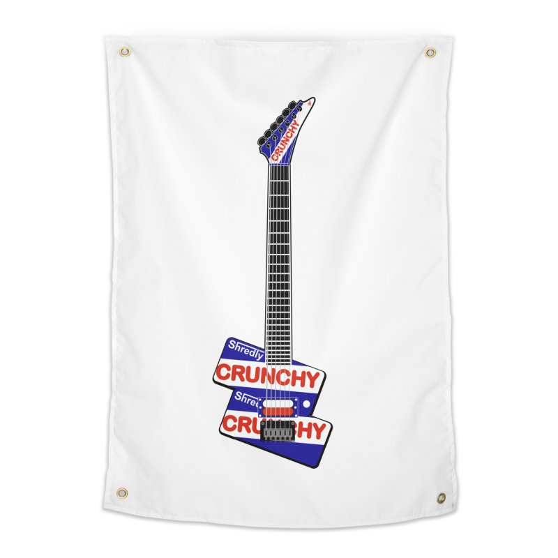 Crunchy Guitar Home Tapestry by Armando Padilla Artist Shop