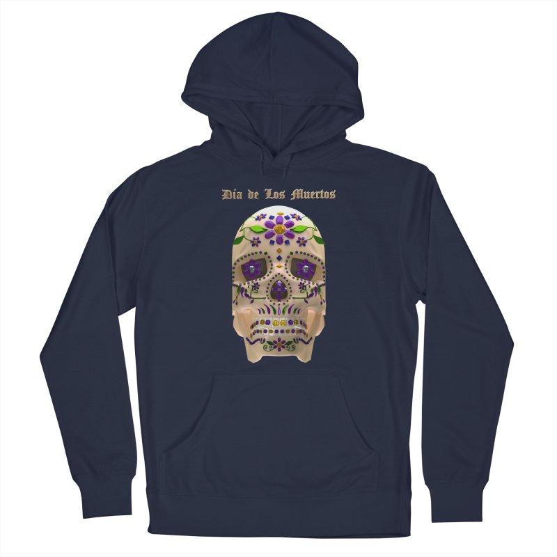 Dia De Los Muertos Sugar Skull One Men's Pullover Hoody by Armando Padilla Artist Shop