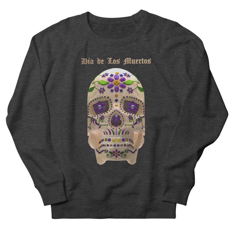 Dia De Los Muertos Sugar Skull One Men's Sweatshirt by Armando Padilla Artist Shop