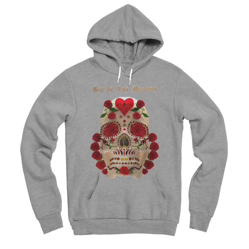 Dia De Los Muertos Key To Your Heart Women's Sponge Fleece Pullover Hoody by Armando Padilla Artist Shop