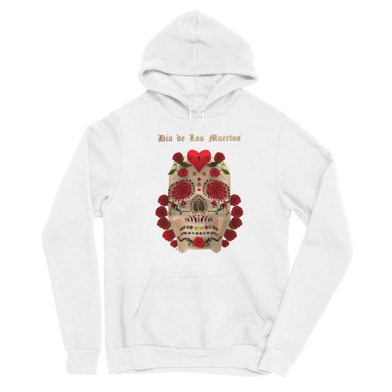 Dia De Los Muertos Key To Your Heart Women's Pullover Hoody by Armando Padilla Artist Shop