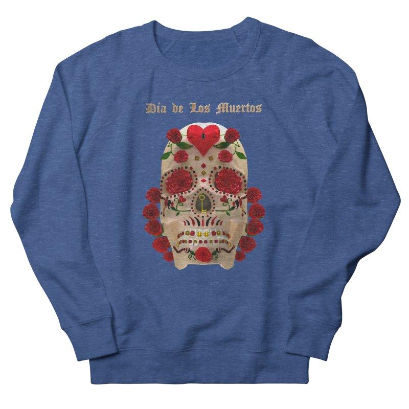 Dia De Los Muertos Key To Your Heart Women's Sweatshirt by Armando Padilla Artist Shop