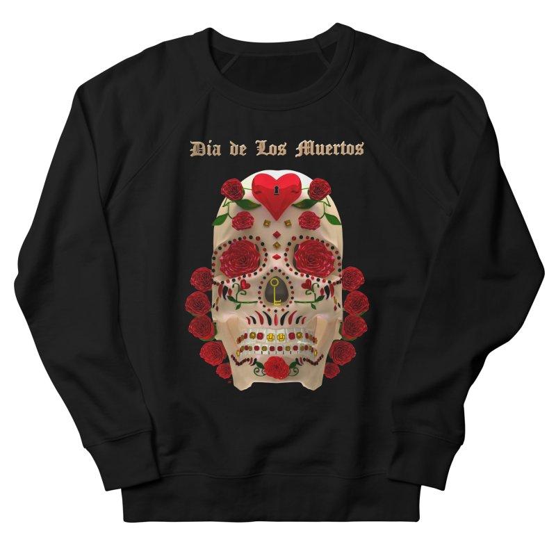 Dia De Los Muertos Key To Your Heart Men's Sweatshirt by Armando Padilla Artist Shop