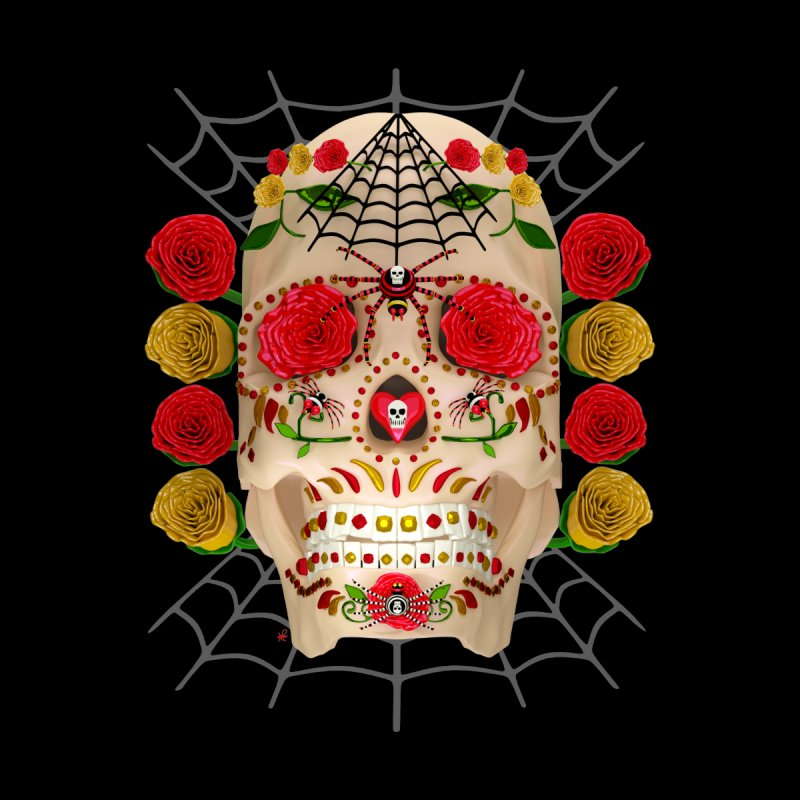 Dia De Los Muertos - Family Accessories Sticker by Armando Padilla Artist Shop