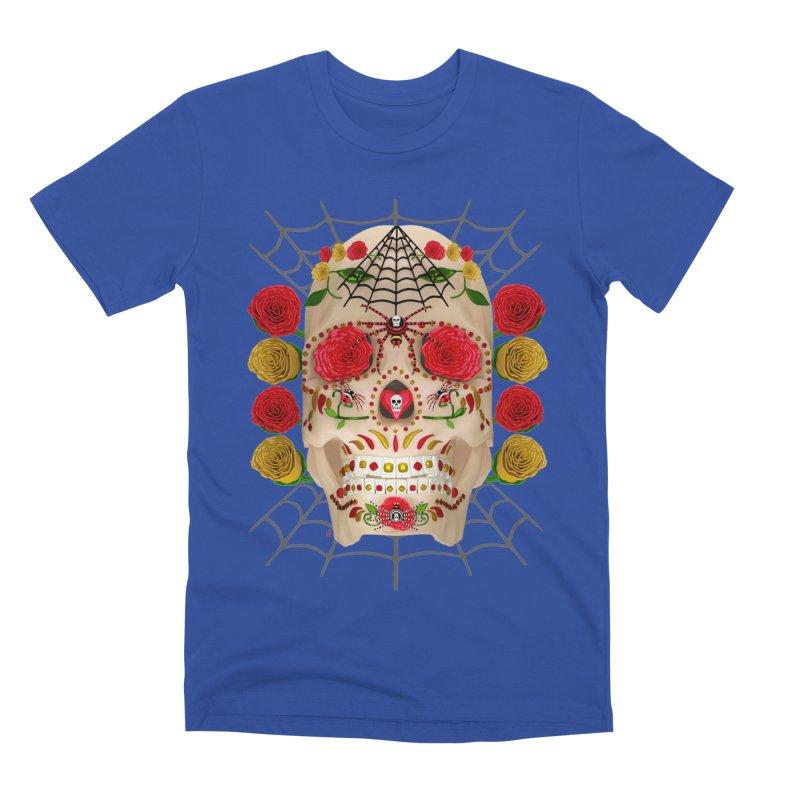 Dia De Los Muertos - Family Men's Premium T-Shirt by Armando Padilla Artist Shop