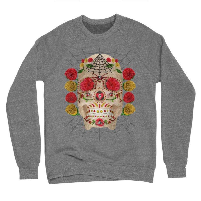 Dia De Los Muertos - Family Men's Sponge Fleece Sweatshirt by Armando Padilla Artist Shop