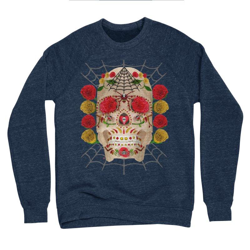 Dia De Los Muertos - Family Women's Sponge Fleece Sweatshirt by Armando Padilla Artist Shop