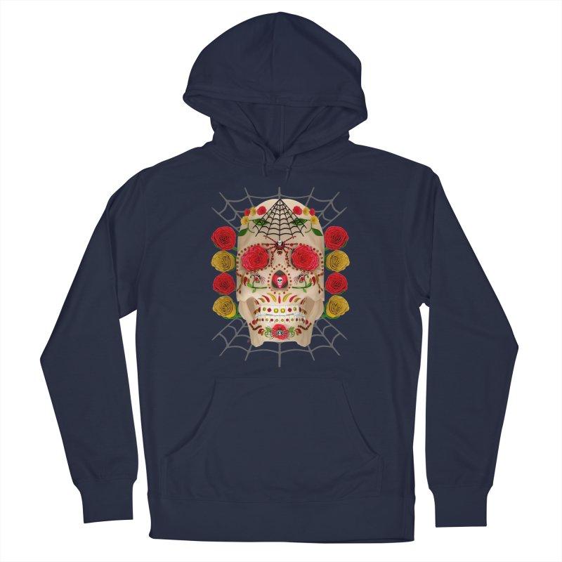Dia De Los Muertos - Family Men's Pullover Hoody by Armando Padilla Artist Shop