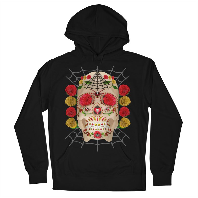 Dia De Los Muertos - Family Women's French Terry Pullover Hoody by Armando Padilla Artist Shop