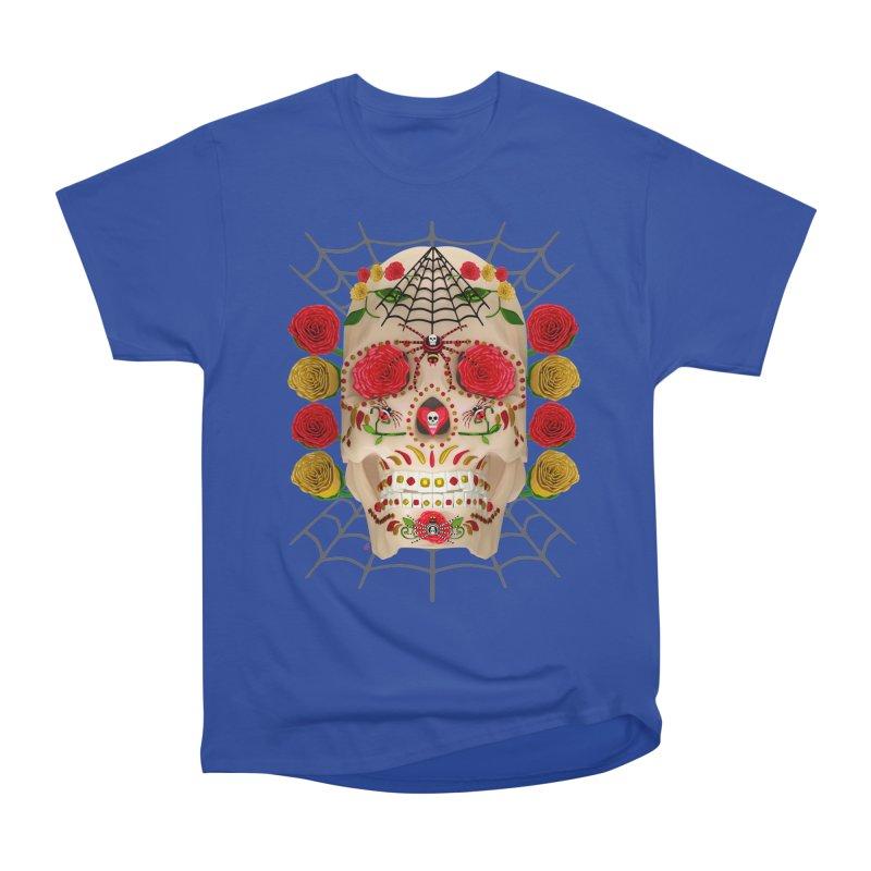 Dia De Los Muertos - Family Men's Heavyweight T-Shirt by Armando Padilla Artist Shop