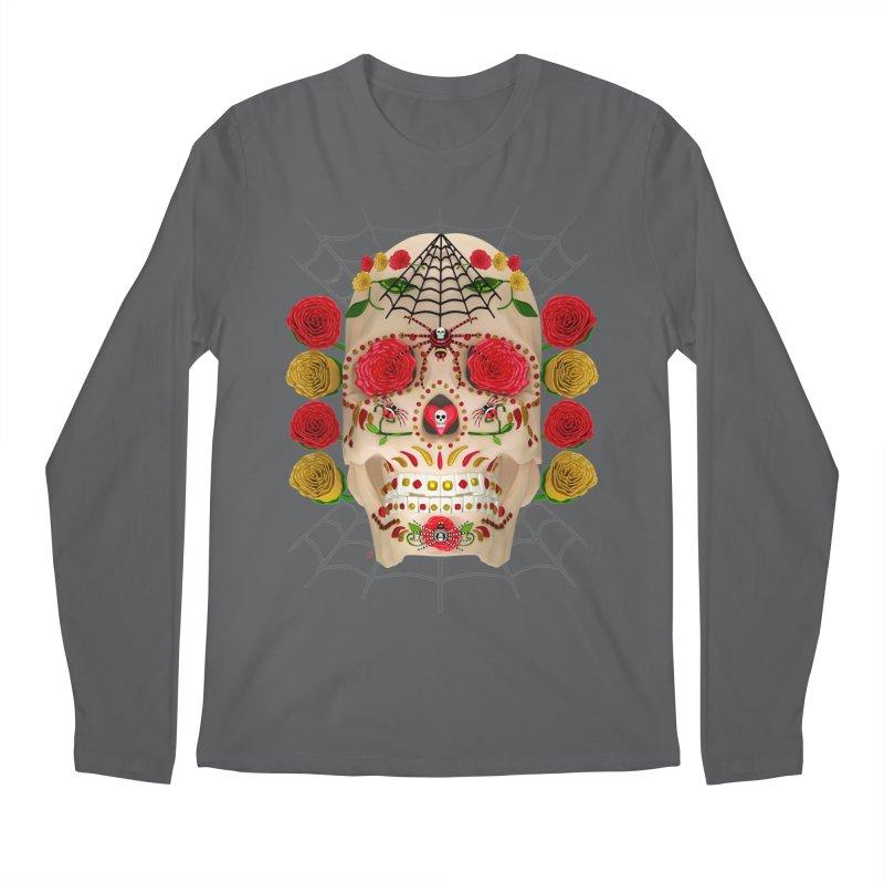 Dia De Los Muertos - Family Men's Longsleeve T-Shirt by Armando Padilla Artist Shop