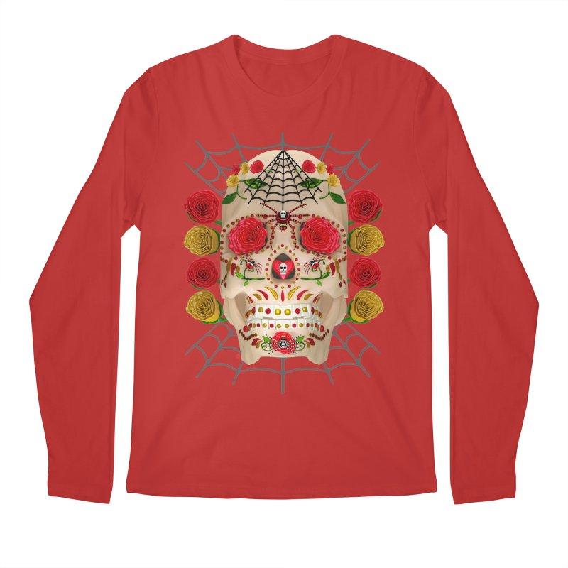 Dia De Los Muertos - Family Men's Regular Longsleeve T-Shirt by Armando Padilla Artist Shop