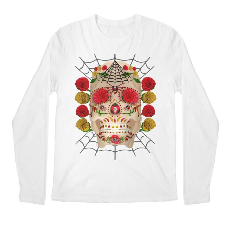 Dia De Los Muertos - Family Men's Regular Longsleeve T-Shirt by Armando Padilla Artist Shop