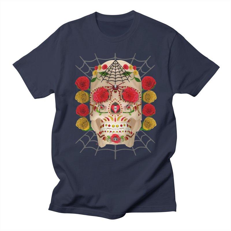 Dia De Los Muertos - Family Women's Regular Unisex T-Shirt by Armando Padilla Artist Shop