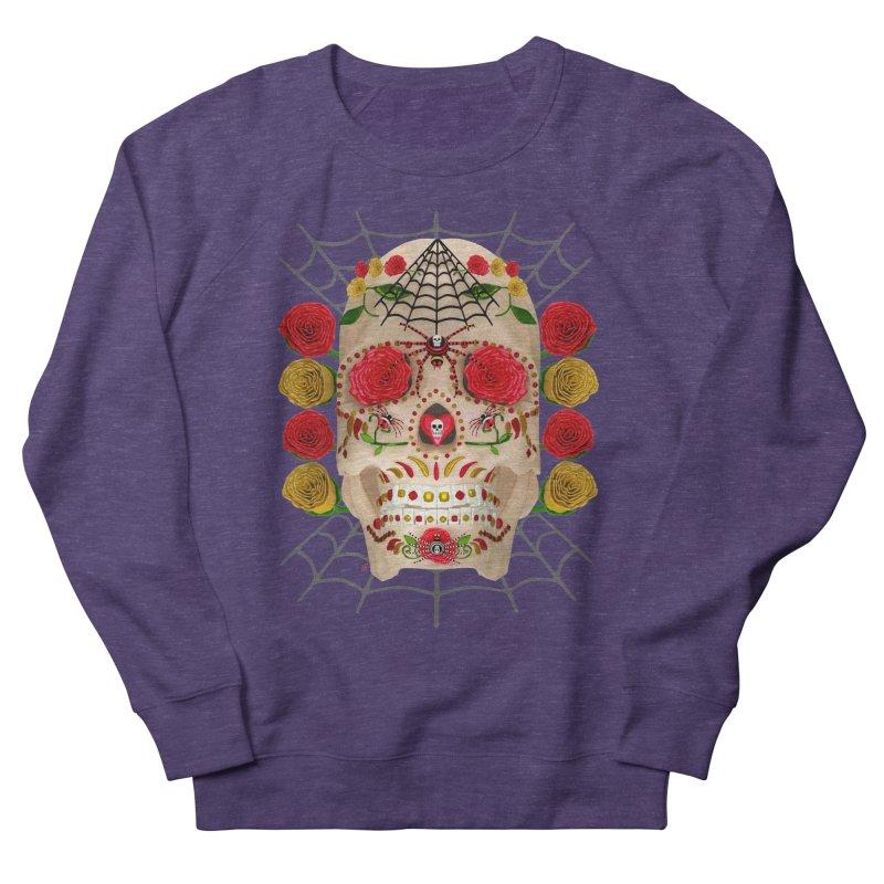 Dia De Los Muertos - Family Women's French Terry Sweatshirt by Armando Padilla Artist Shop