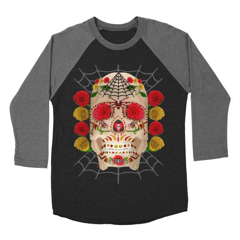 Dia De Los Muertos - Family Women's Baseball Triblend Longsleeve T-Shirt by Armando Padilla Artist Shop