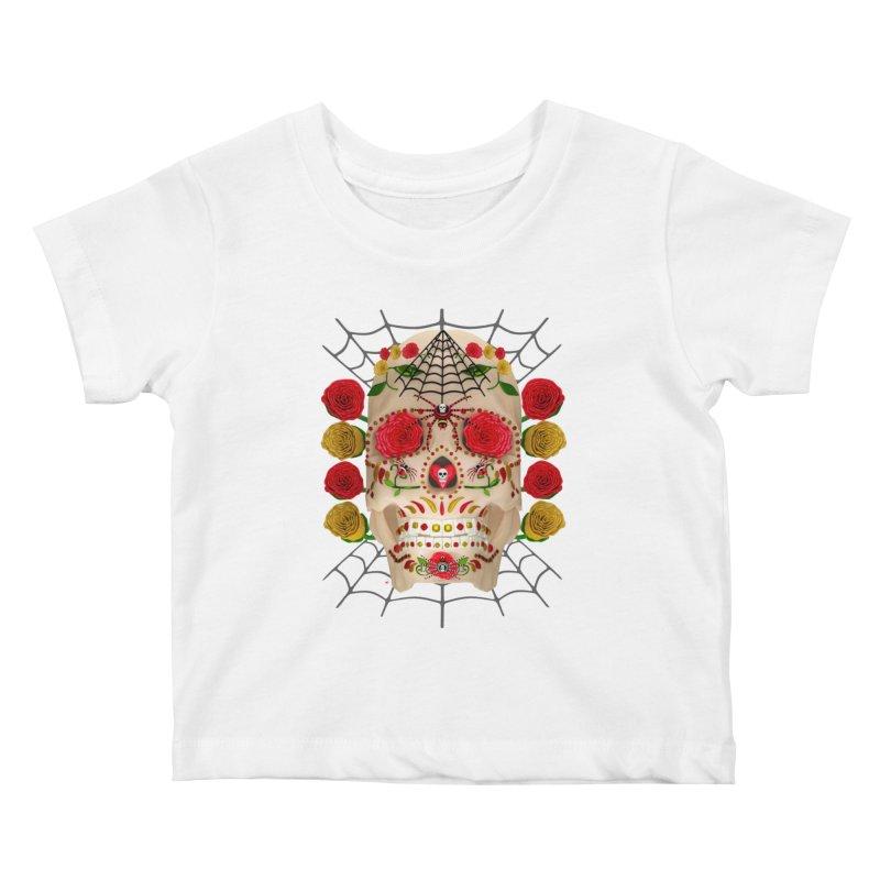Dia De Los Muertos - Family Kids Baby T-Shirt by Armando Padilla Artist Shop