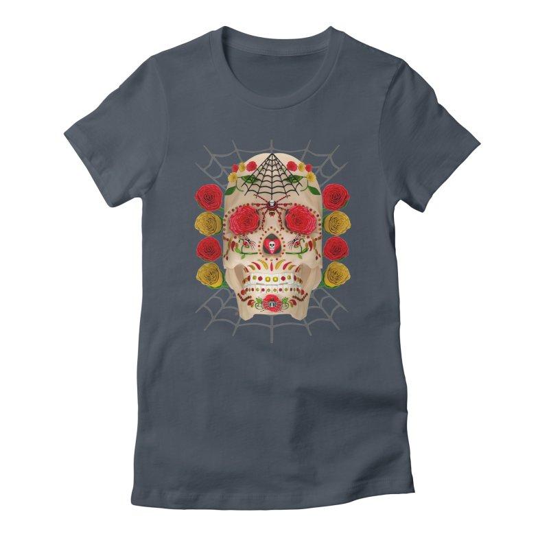 Dia De Los Muertos - Family Women's T-Shirt by Armando Padilla Artist Shop