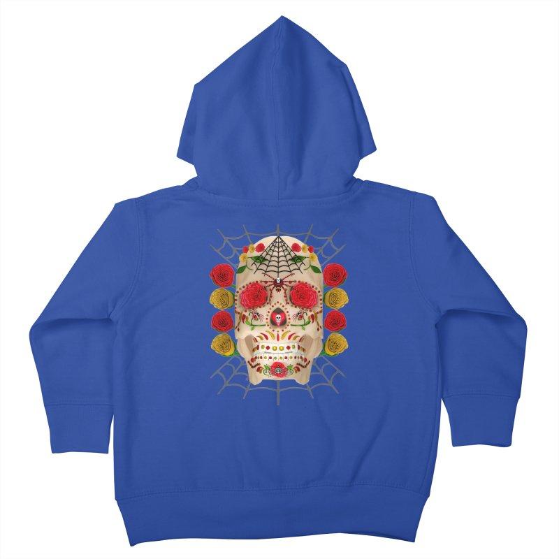 Dia De Los Muertos - Family Kids Toddler Zip-Up Hoody by Armando Padilla Artist Shop