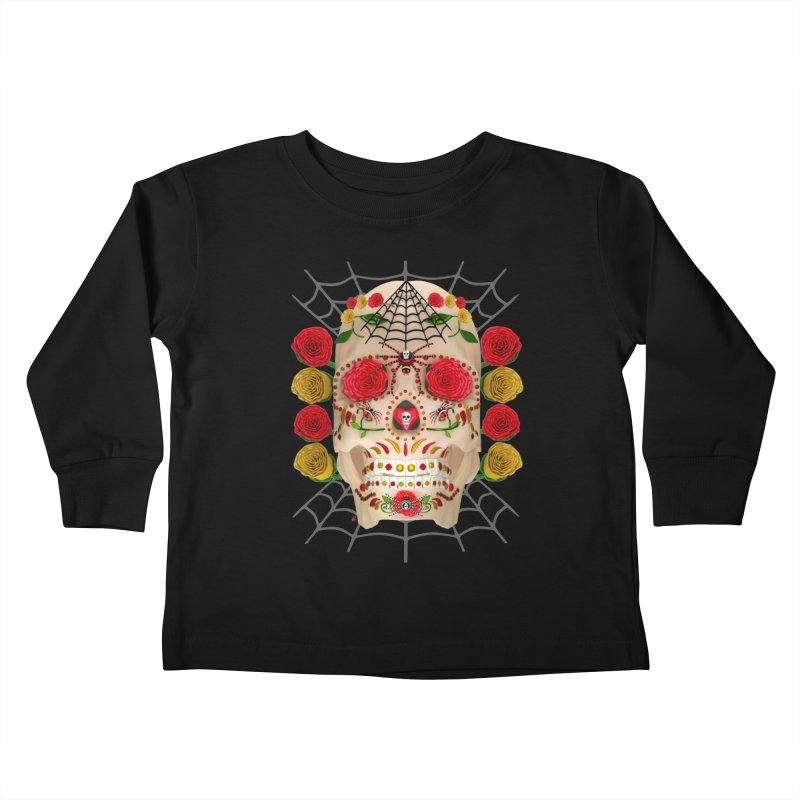 Dia De Los Muertos - Family Kids Toddler Longsleeve T-Shirt by Armando Padilla Artist Shop