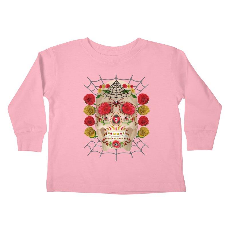 Dia De Los Muertos - Family Kids Toddler Longsleeve T-Shirt by Armando Padilla Artist Shop
