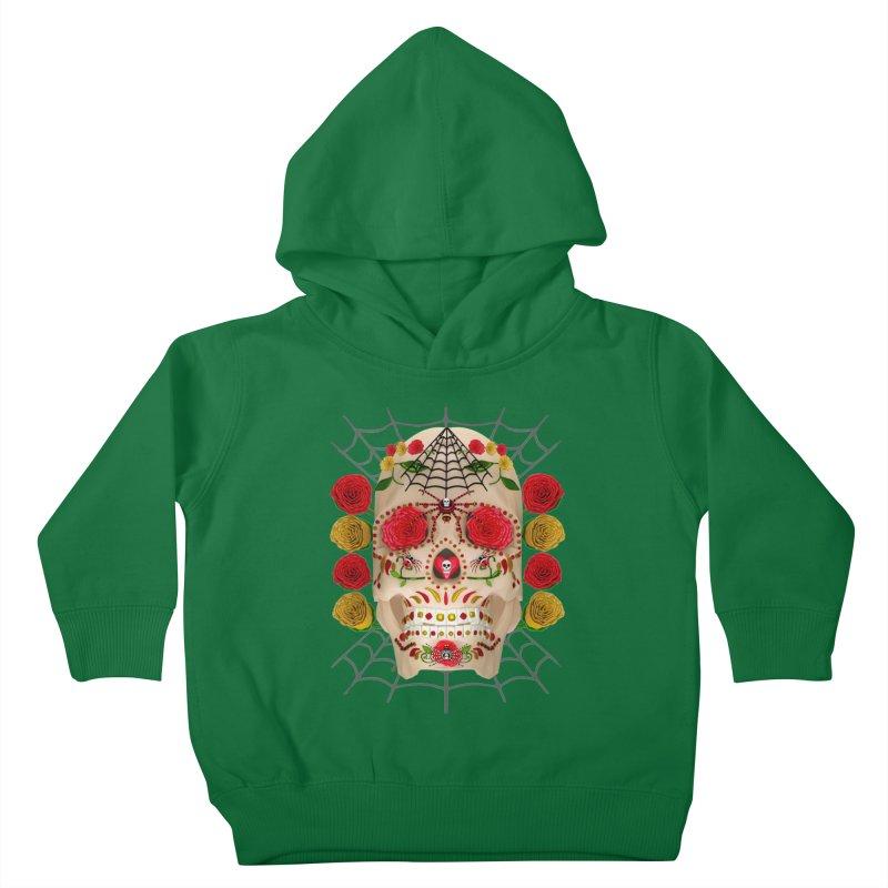 Dia De Los Muertos - Family Kids Toddler Pullover Hoody by Armando Padilla Artist Shop