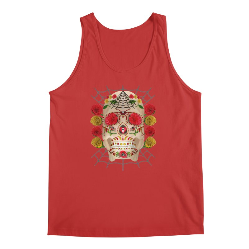 Dia De Los Muertos - Family Men's Regular Tank by Armando Padilla Artist Shop