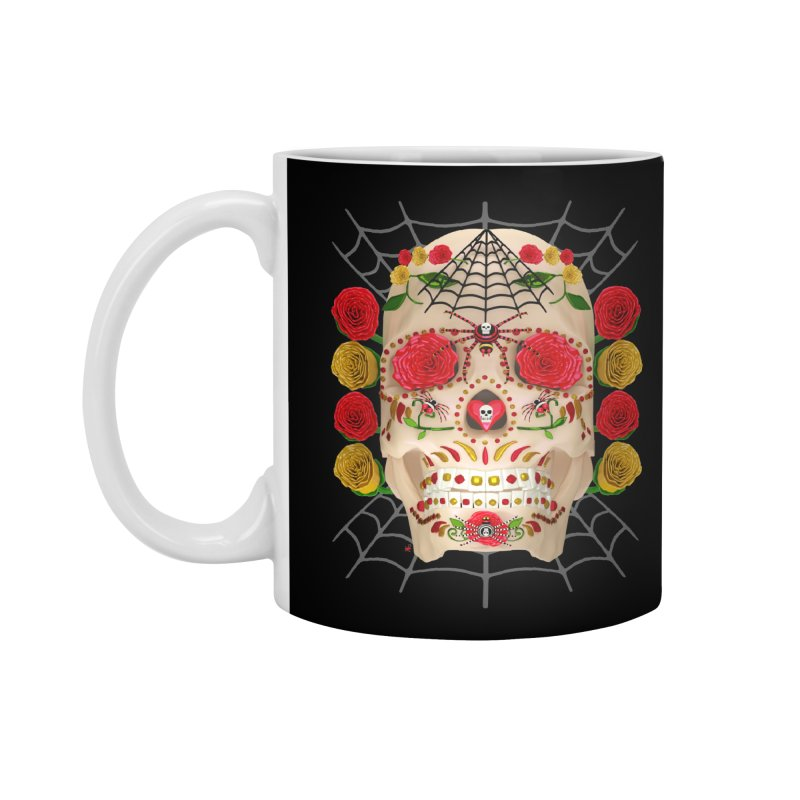 Dia De Los Muertos - Family Accessories Mug by Armando Padilla Artist Shop