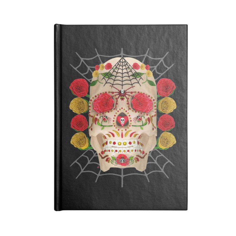 Dia De Los Muertos - Family Accessories Notebook by Armando Padilla Artist Shop