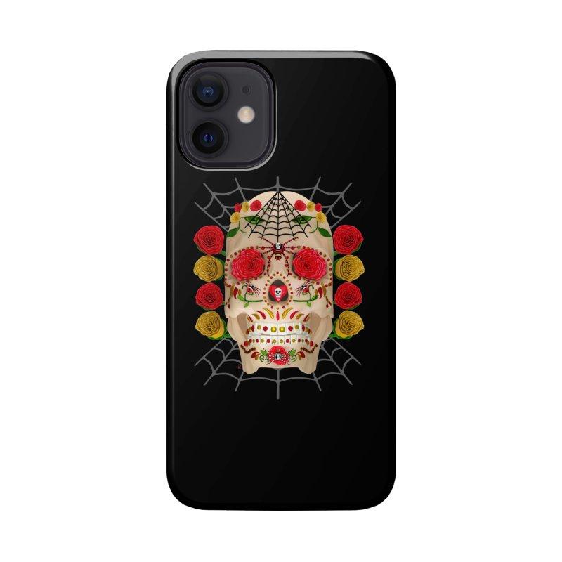 Dia De Los Muertos - Family Accessories Phone Case by Armando Padilla Artist Shop