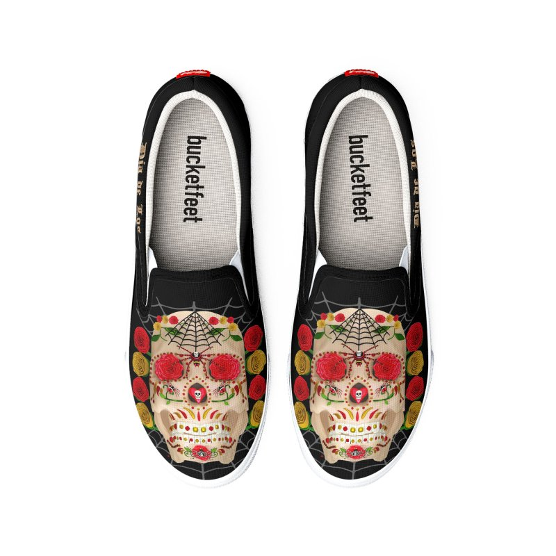 Dia De Los Muertos - Family Women's Shoes by Armando Padilla Artist Shop