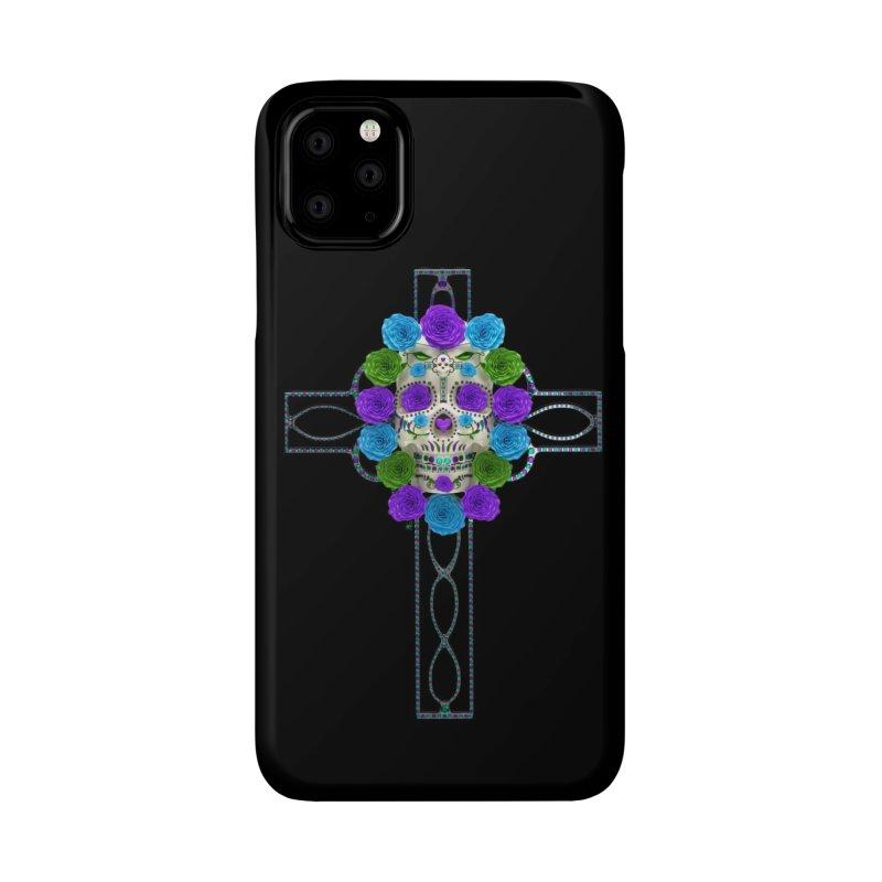 Dia de Los Muertos - Cross My Heart Accessories Phone Case by Armando Padilla Artist Shop
