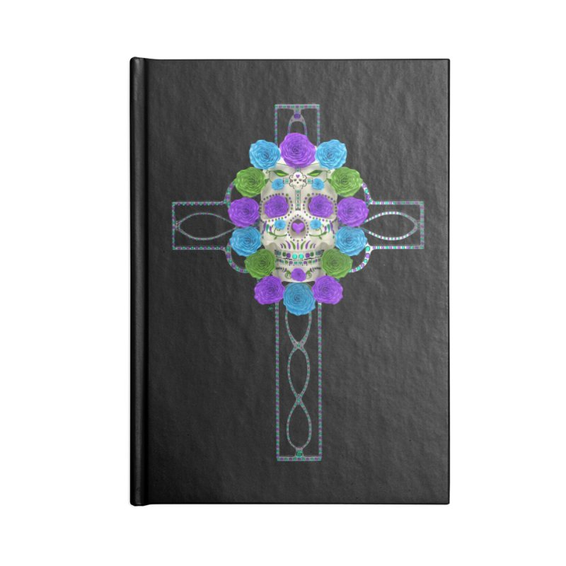 Dia de Los Muertos - Cross My Heart Accessories Notebook by Armando Padilla Artist Shop
