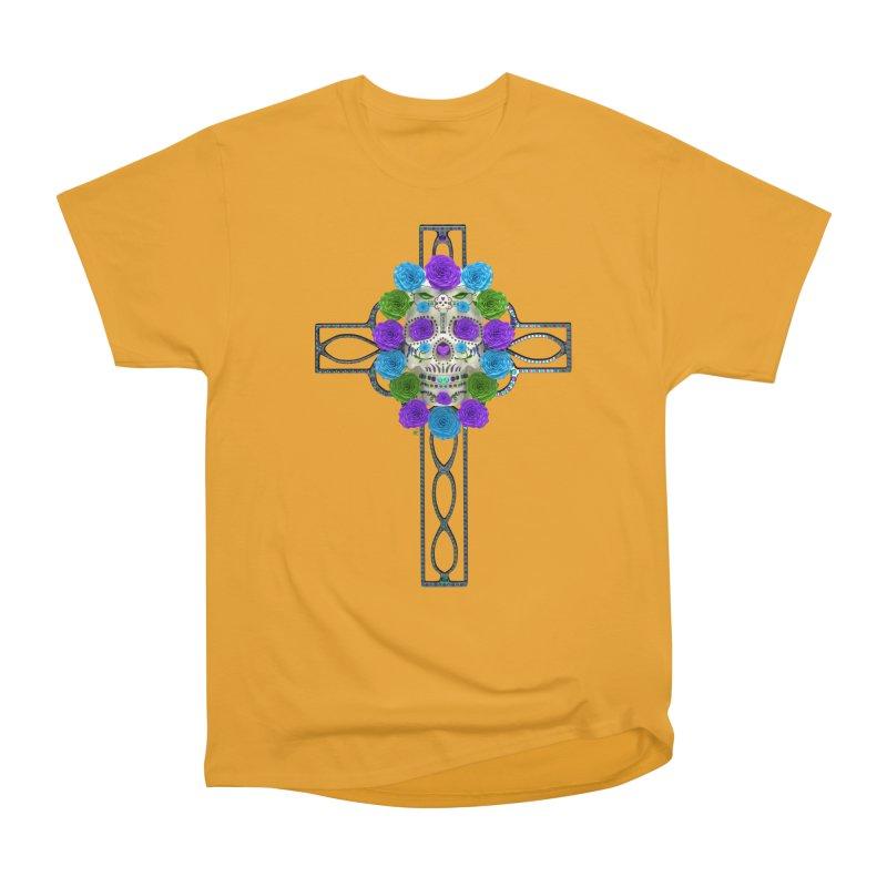 Dia de Los Muertos - Cross My Heart Women's T-Shirt by Armando Padilla Artist Shop