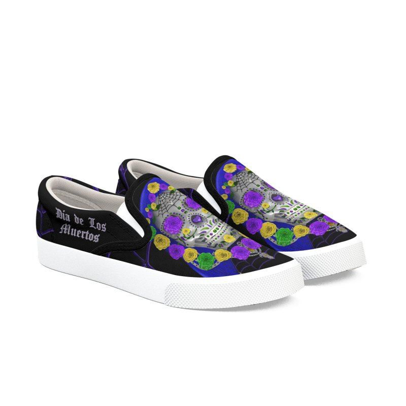 Sapphire's Web Women's Slip-On Shoes by Armando Padilla Artist Shop