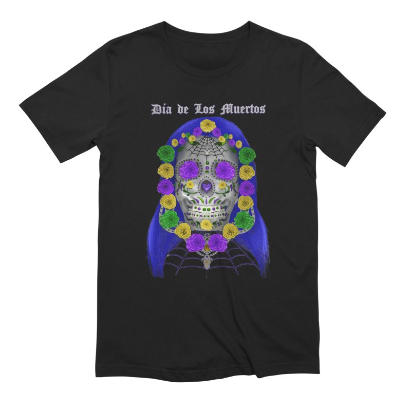 Sapphire's Web Men's Extra Soft T-Shirt by Armando Padilla Artist Shop