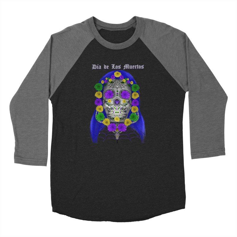 Sapphire's Web Women's Baseball Triblend Longsleeve T-Shirt by Armando Padilla Artist Shop